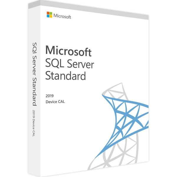 SQL Server 2019 Standard - 10 Device CAL
