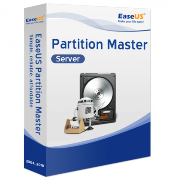 EaseUS Partition Master Server 13.5