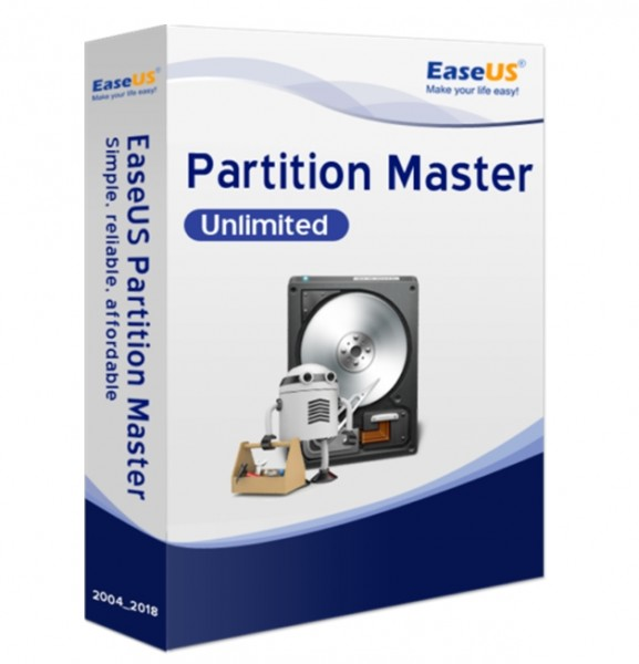 EaseUS Partition Master Unlimited 13.5