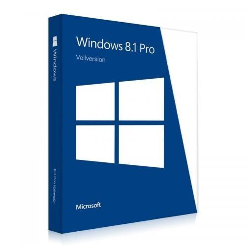 Windows 8.1 Professional 32/64 Bit Vollversion Download-Lizenz