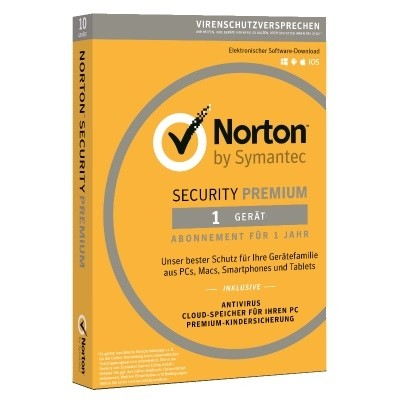 Symantec Norton Security Premium 2019