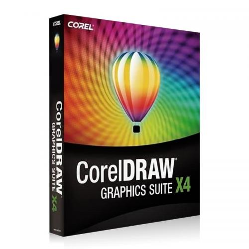 CorelDraw Graphics Suite X4 Vollversion