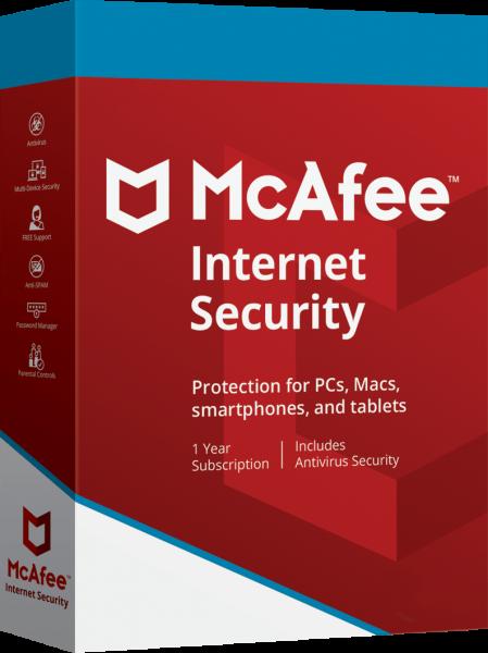 McAfee Internet Security 2020