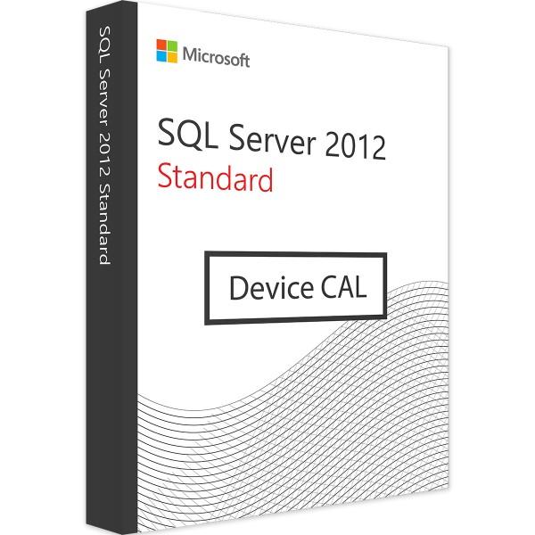 Microsoft SQL Server 2012 Standard - 10 Device CALs